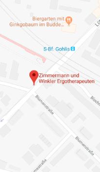 Wegweiser - Google-Karte